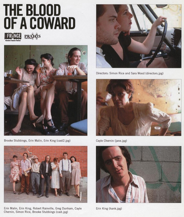 Blood of a Coward Poster