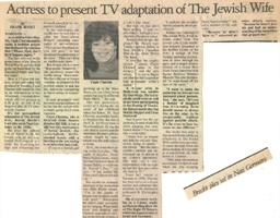 The Jewish Wife Article